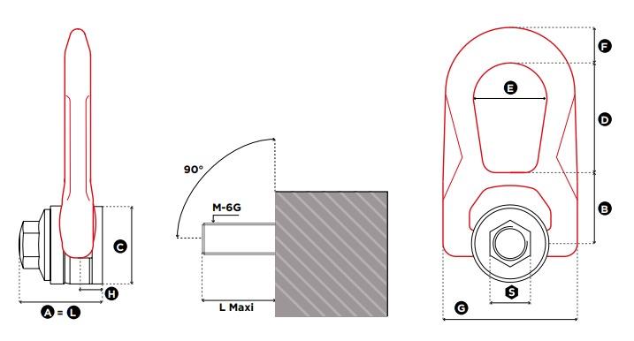 DSR technische Zeichnung