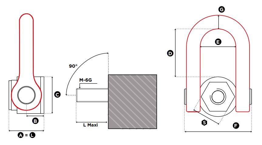 DSS technische Zeichnung