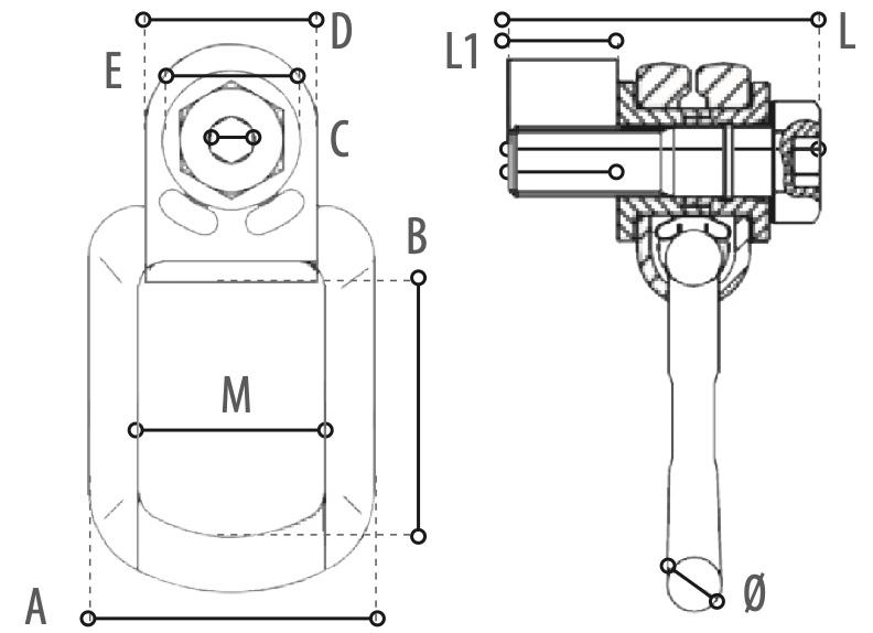 WO80 technische Zeichnung