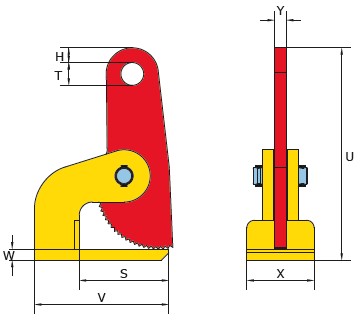 Technische Zeichnung FHX