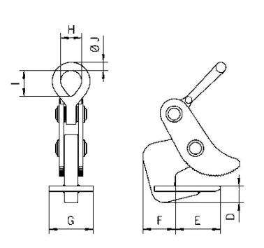 TCH technische Zeichnung