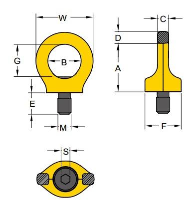 PSA technische Zeichnung