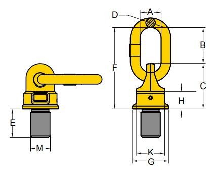 WBO technische Zeichnung