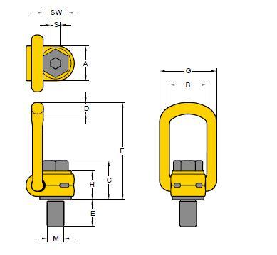 YPK technische Zeichnung
